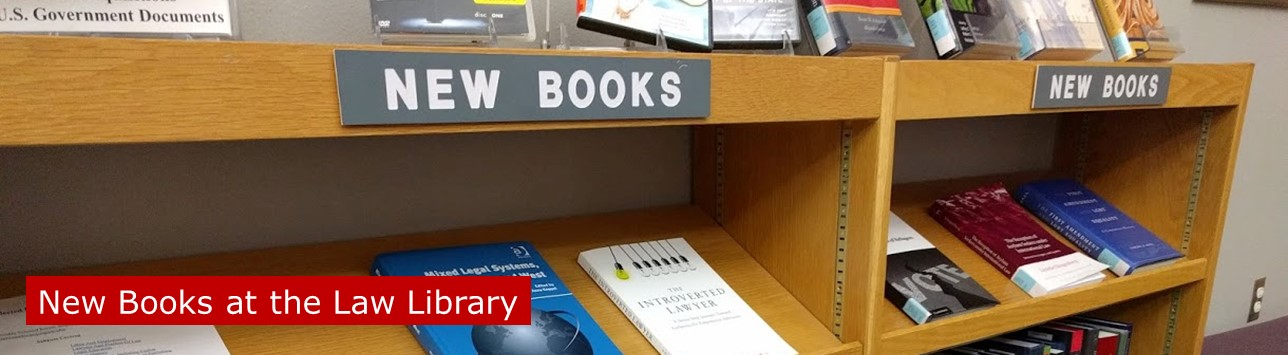 New Law Library Books