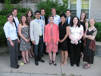 Barbara Welke and the 2009 Hurst Fellows