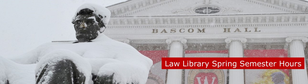 Bascom Hill in Snow