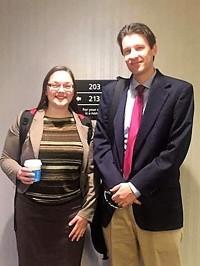 Michelle Brandemuehl and Ben Harville