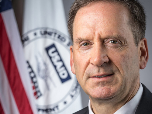 USAID director Mark Green '87 visits campus to discuss partnering with UW