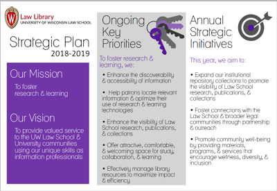 2018-19 Strategic Plan