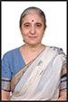 headshot of woman in a sari