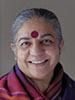 Portrait of Vandana Shiva