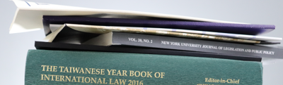 Books and Journals on East Asia Law