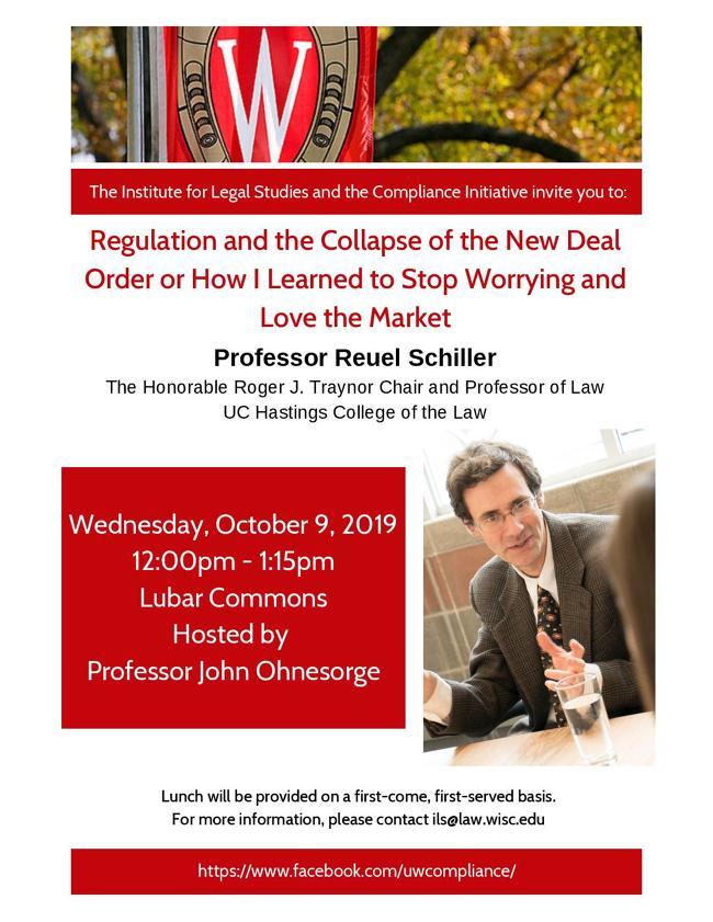 Professor Schiller Event Poster
