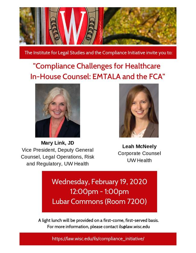 Compliance Initiative with UW Health poster