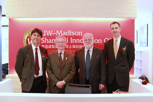 UW Law Professors Heinz Klug, Charles Irish, and John Ohnesorge with