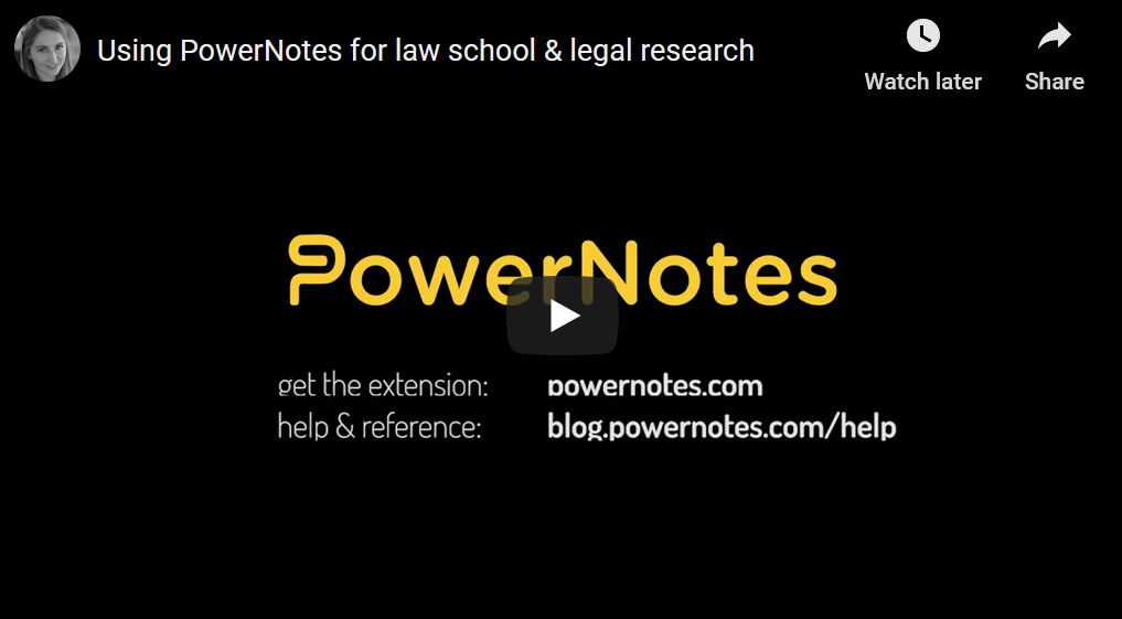 PowerNotes Video 2