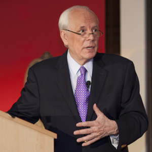 John Dean delivering the 2013 Kastenmeier Lecture
