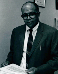 James E. Jones, Jr. in 1971