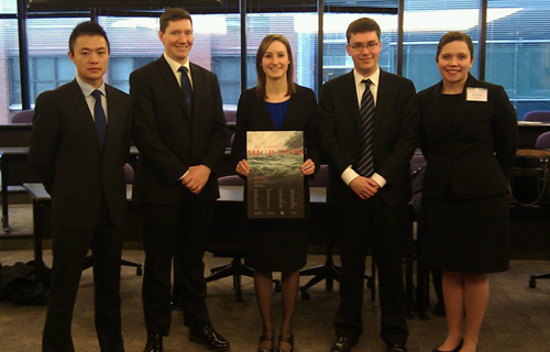 Jessup International Moot Court team