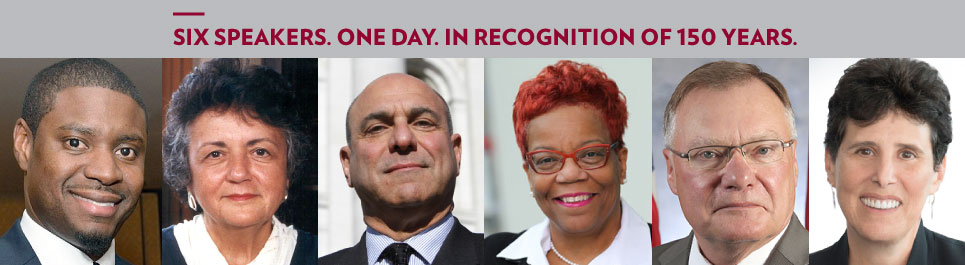 Read more: Six speakers. One day. In recognition of 150 years.