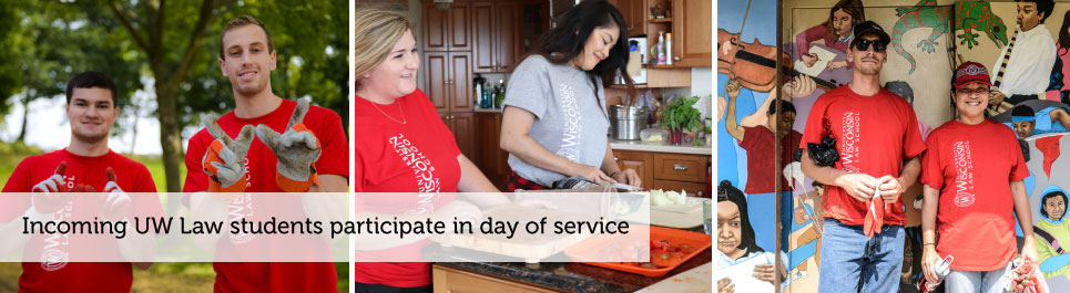 Read more: Incoming UW Law students participate in day of service