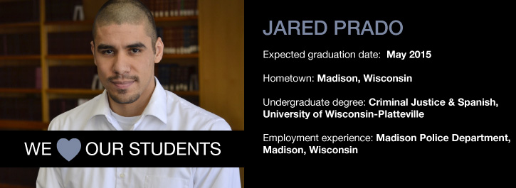 We 'Heart' Our Students: Jared Prado