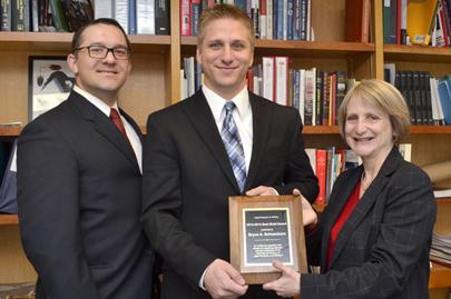 2012-2013 Best Brief Winner - 2L, Bryce A. Schoenborn, Class of 2014