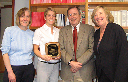 2007 Best Brief Winner, Emily Gold, Class of 2009