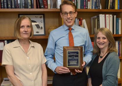 2015 Best Brief Winner, Joseph S. Diedrich, Class of 2017
