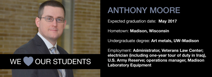We Heart Our Students: Anthony Moore