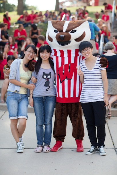 LLM-LI students meet bucky badger
