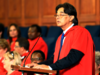 Heinz Klug delivers speech at University of Cape Town commencement ceremony