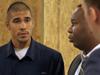 Officer Jared Prado '15 demonstrates implicit bias training at Madison Police Department