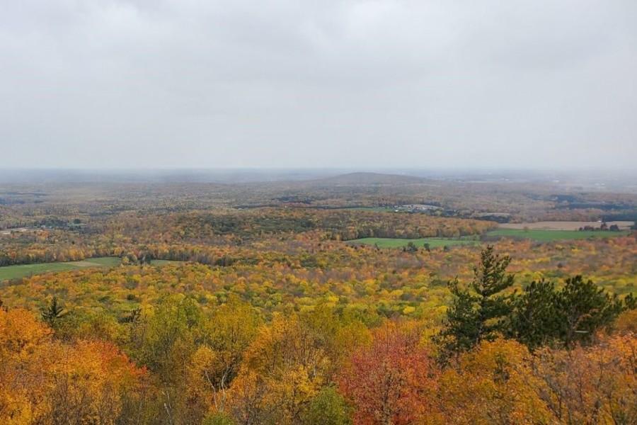 Wisconsin Landscape in autumn
