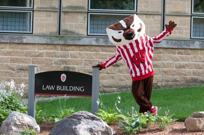 bucky outside of the law school