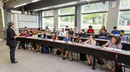 prelaw scholars classroom