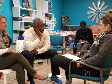 Restorative Justice Program students host training