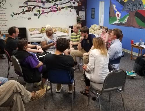 Restorative Justice Program students participate in community engagement
