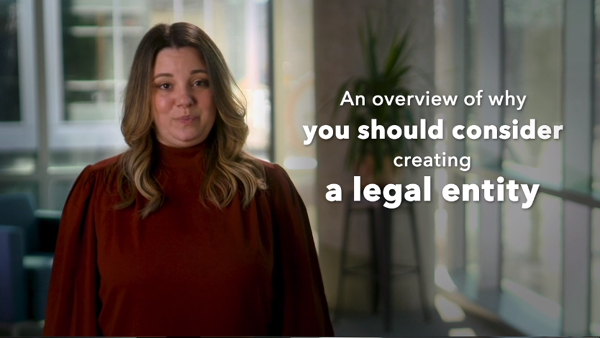 video thumbnail for creating a legal entity