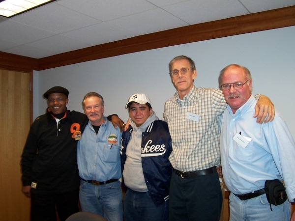 Exonerees from Wisconsin posing together